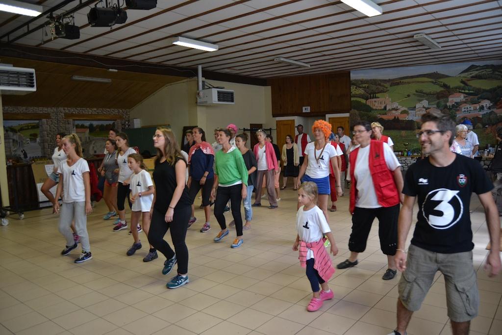 Flash mob répétitions